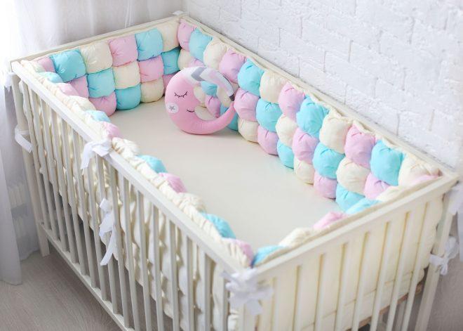 Бортики кроватки своими руками