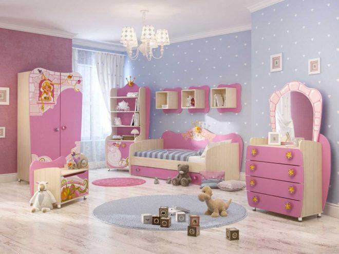 детская для принцессы