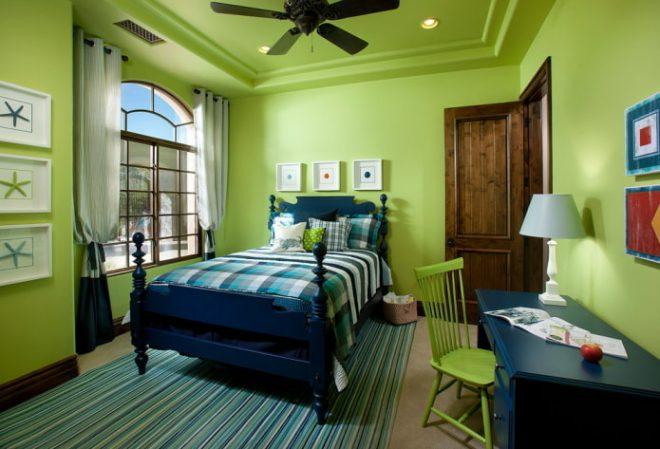 маленькая зелёная комната