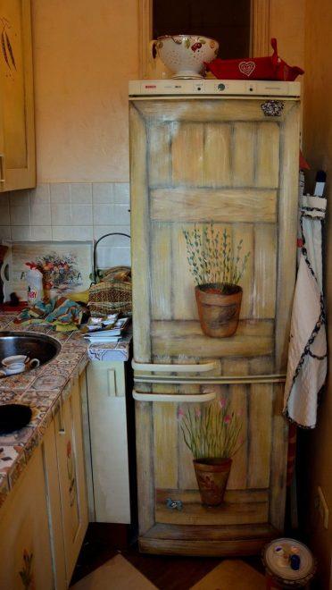 рисунки в стиле прованс для кухни