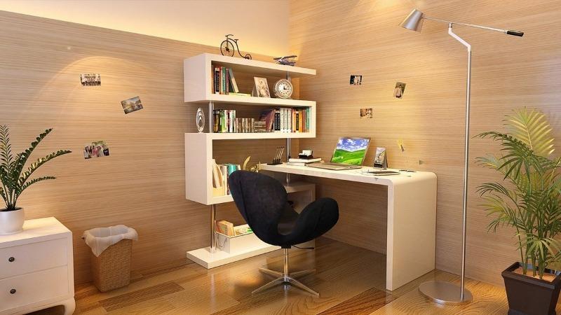 Офисный уголок в квартире